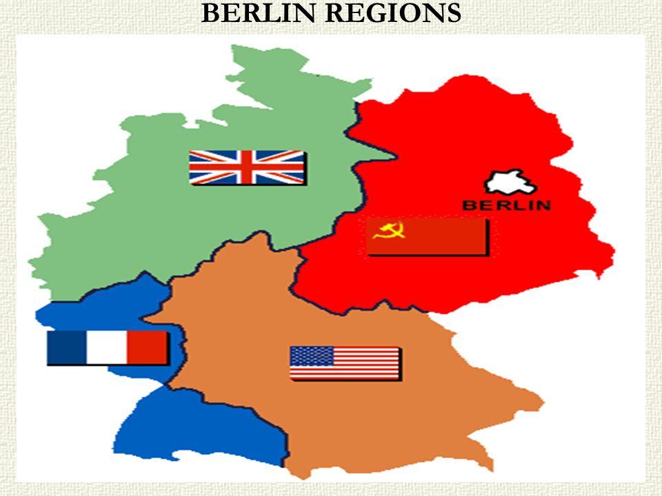 BERLIN REGIONS
