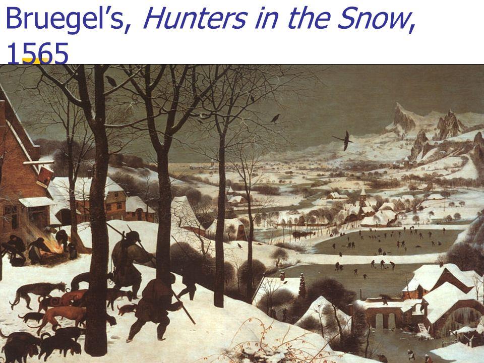 Bruegel's, Hunters in the Snow, 1565