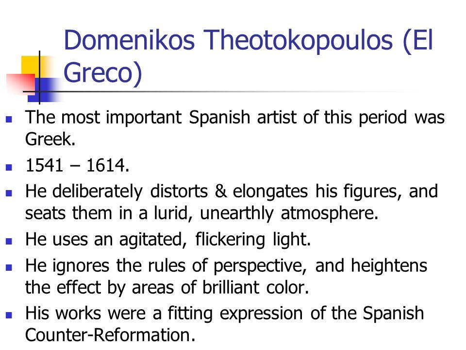 Domenikos Theotokopoulos (El Greco)