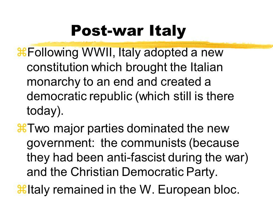 Post-war Italy