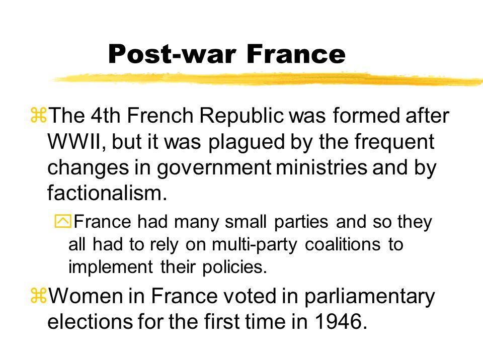 Post-war France