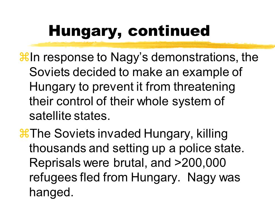 Hungary, continued