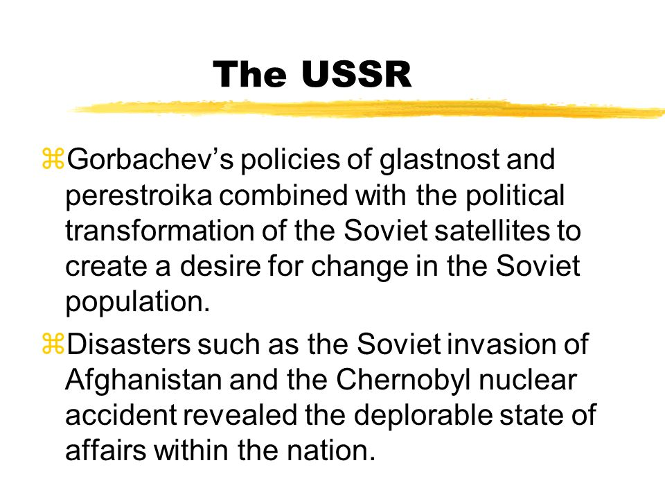 The USSR