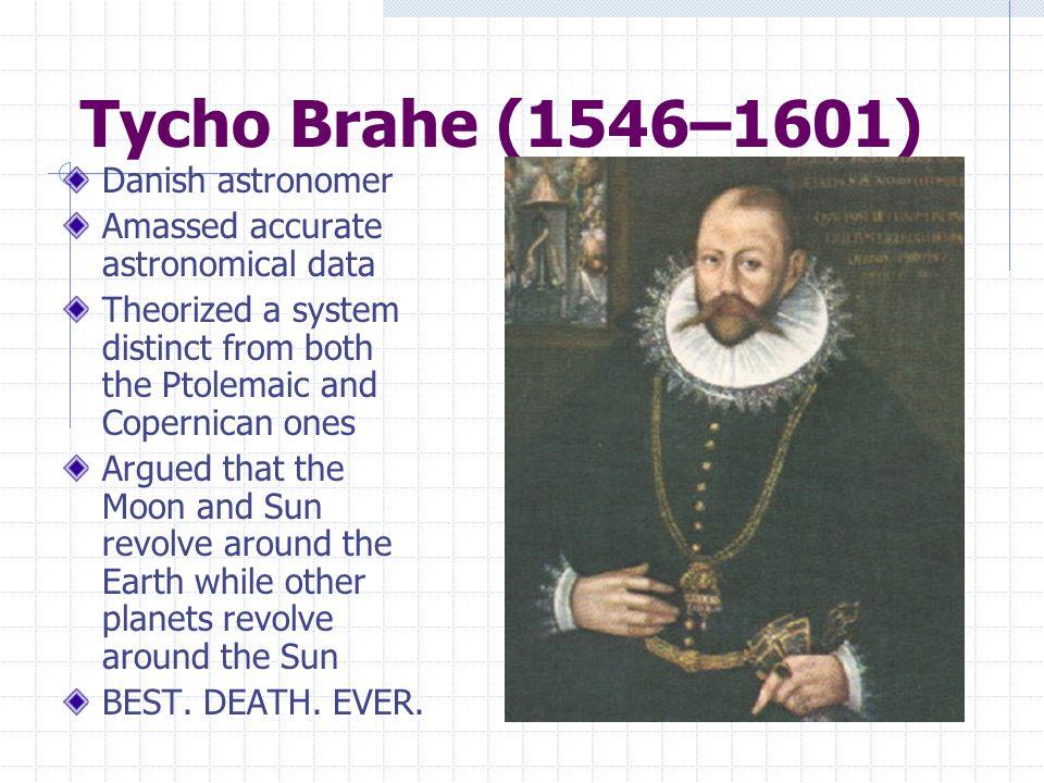 Tycho Brahe (1546–1601) Danish astronomer