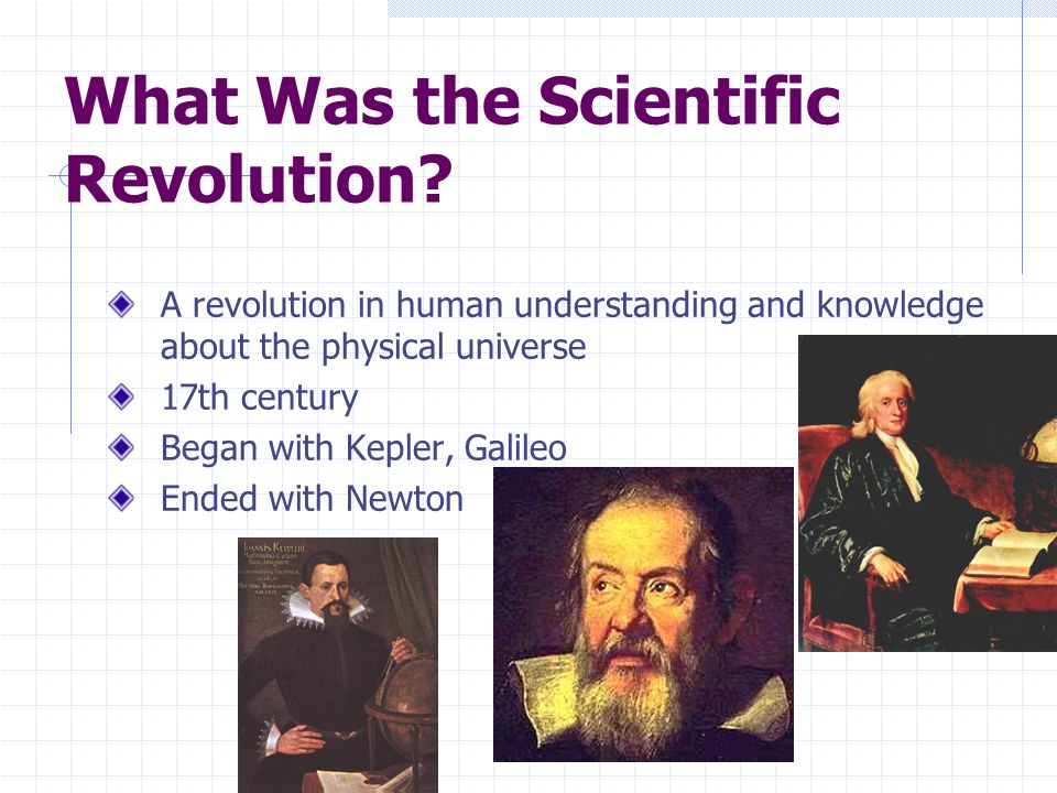 What Was the Scientific Revolution