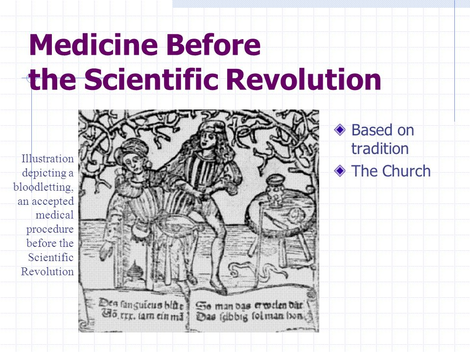 Medicine Before the Scientific Revolution