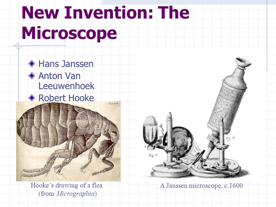 New Invention: The Microscope