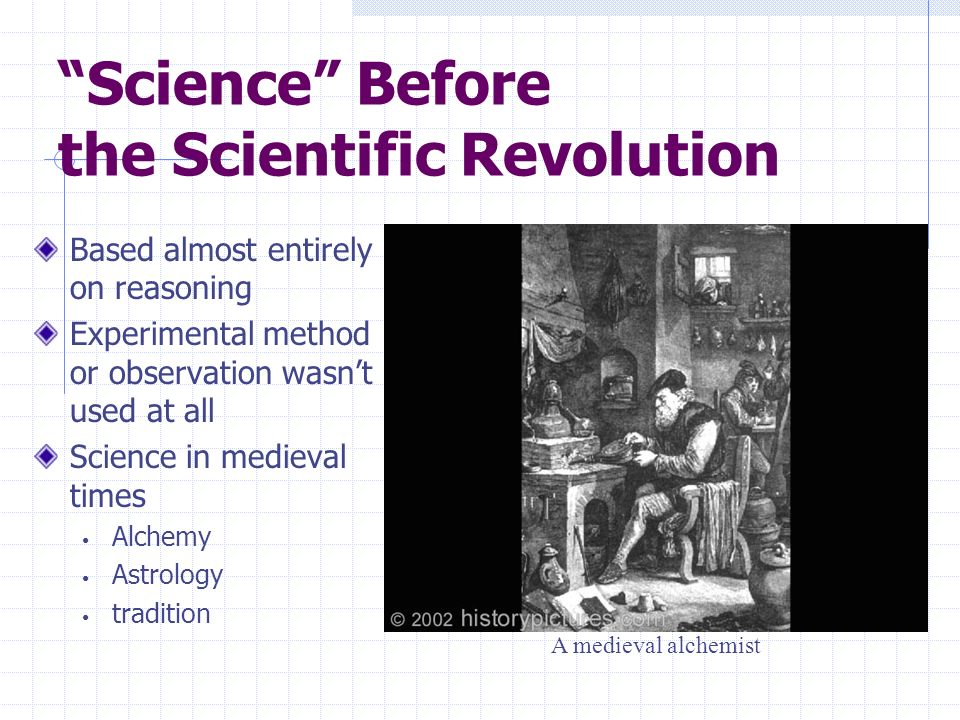 Science Before the Scientific Revolution