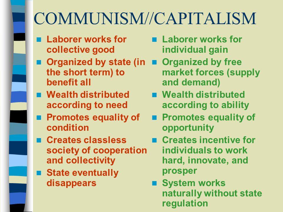 COMMUNISM//CAPITALISM