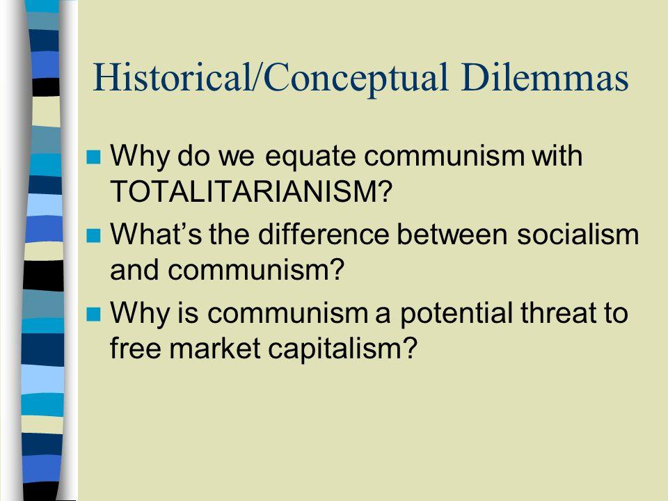 Historical/Conceptual Dilemmas