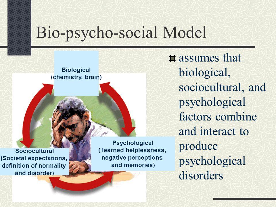 Bio-psycho-social Model
