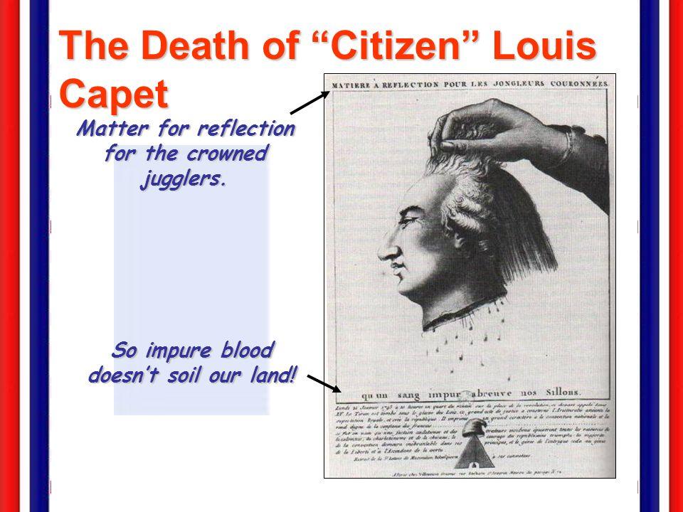 The Death of Citizen Louis Capet