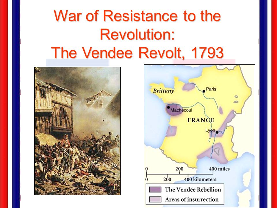 War of Resistance to the Revolution: The Vendee Revolt, 1793
