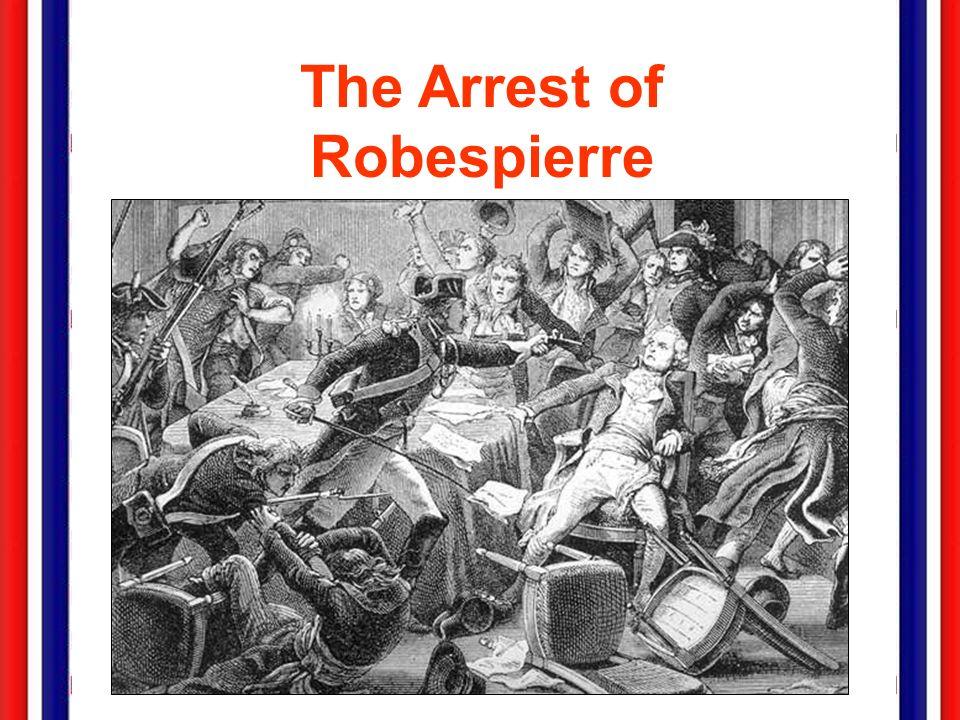 The Arrest of Robespierre