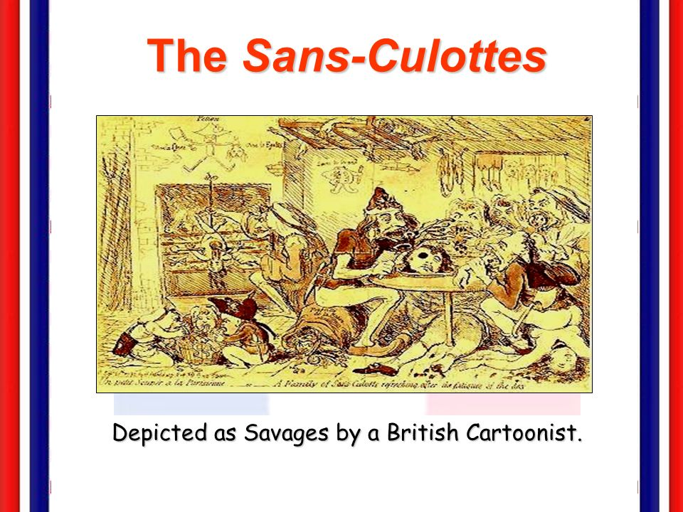 Depicted as Savages by a British Cartoonist.