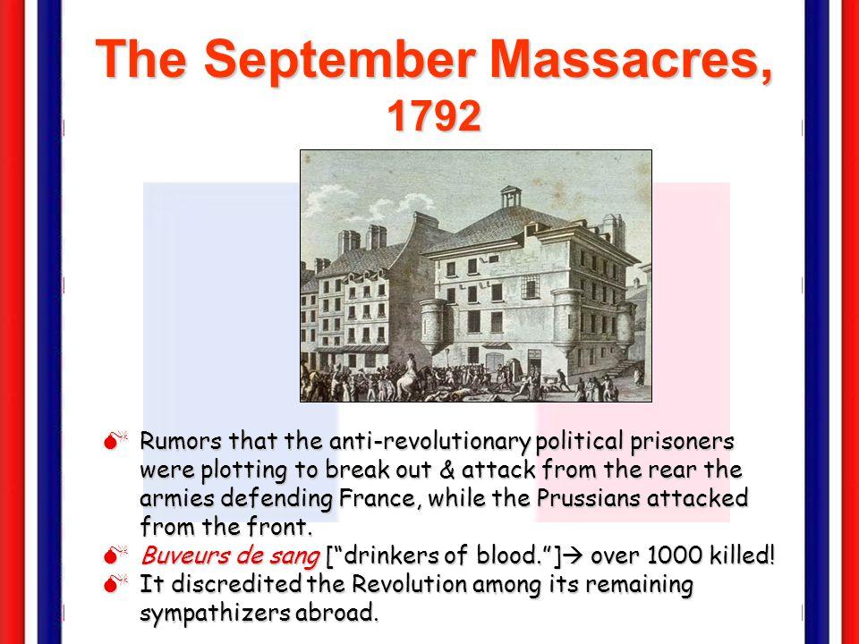 The September Massacres, 1792