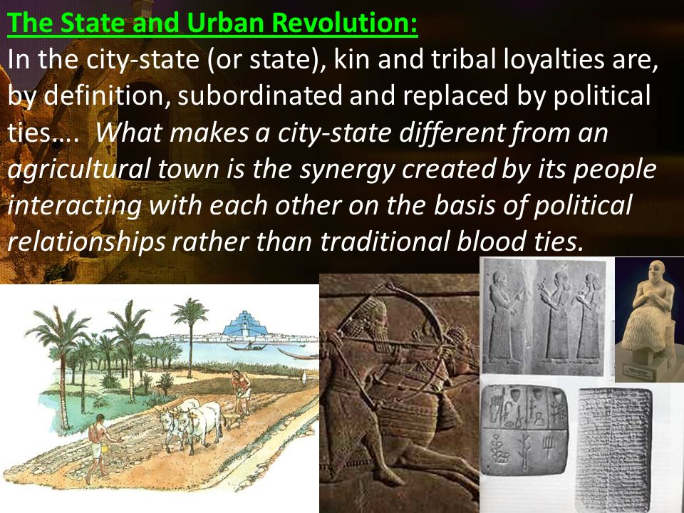 The State and Urban Revolution: