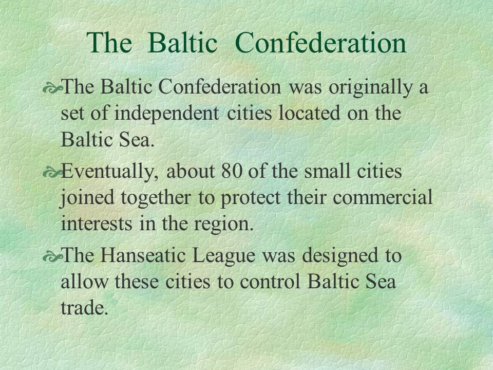 The Baltic Confederation