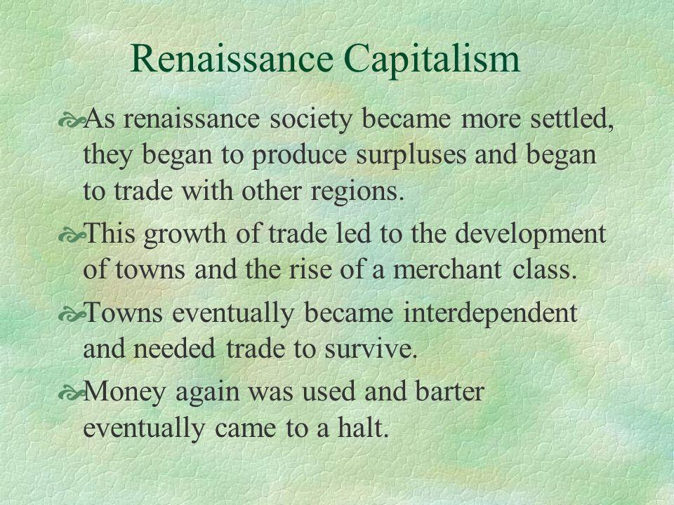 Renaissance Capitalism