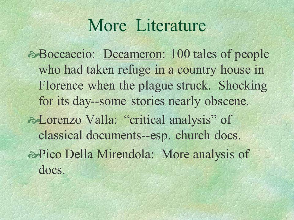 More Literature