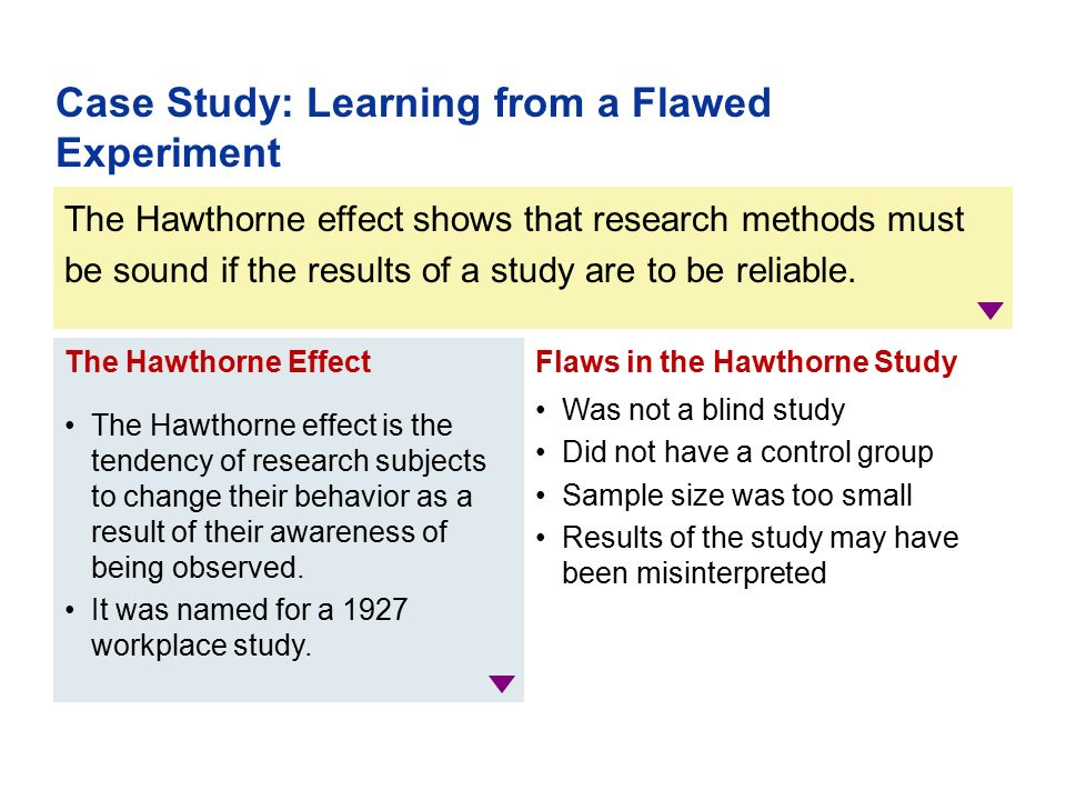 Case study writers vs experimental research
