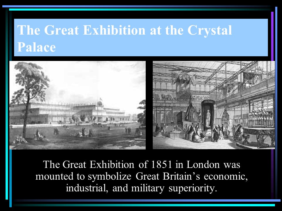 The Great Exhibition at the Crystal Palace
