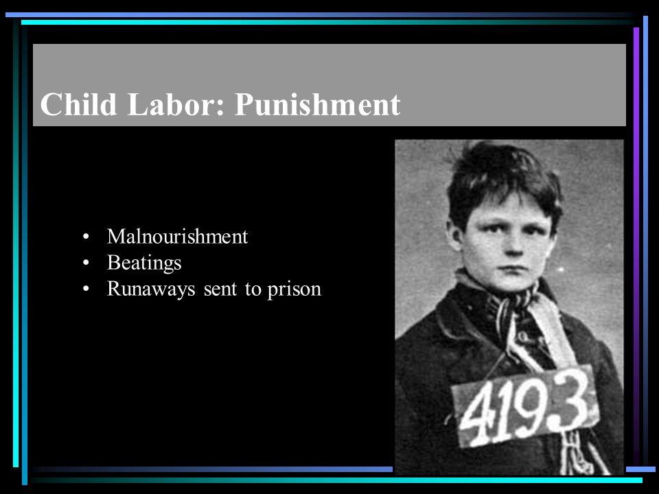 Child Labor: Punishment