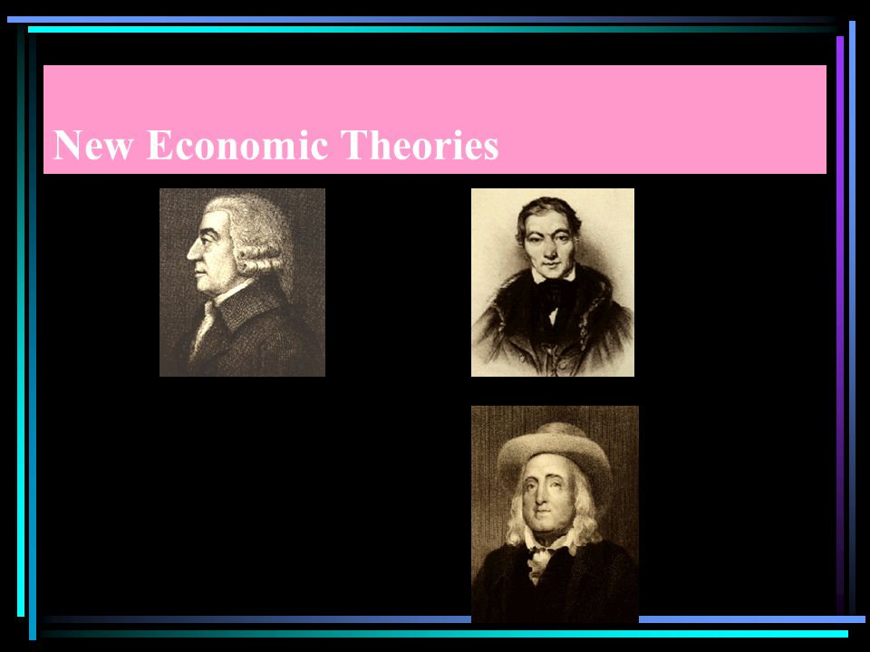 New Economic Theories New social and political philosophies arose as a response to increasing industrialization and changes in working conditions.