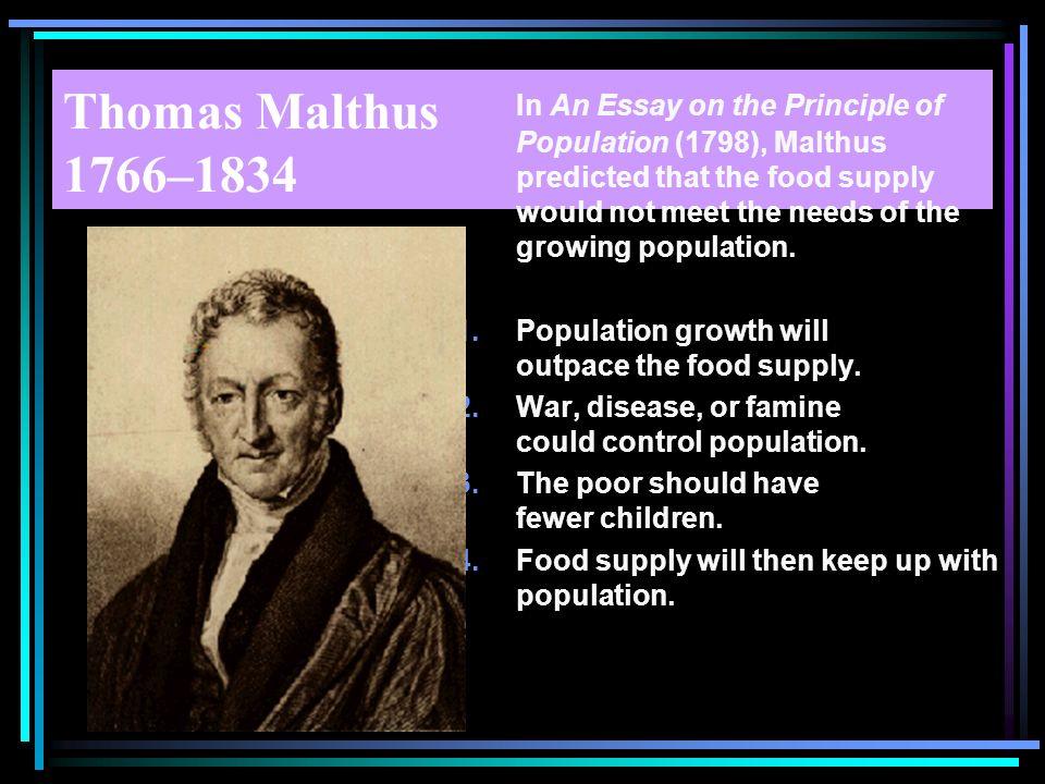 Thomas Malthus 1766–1834
