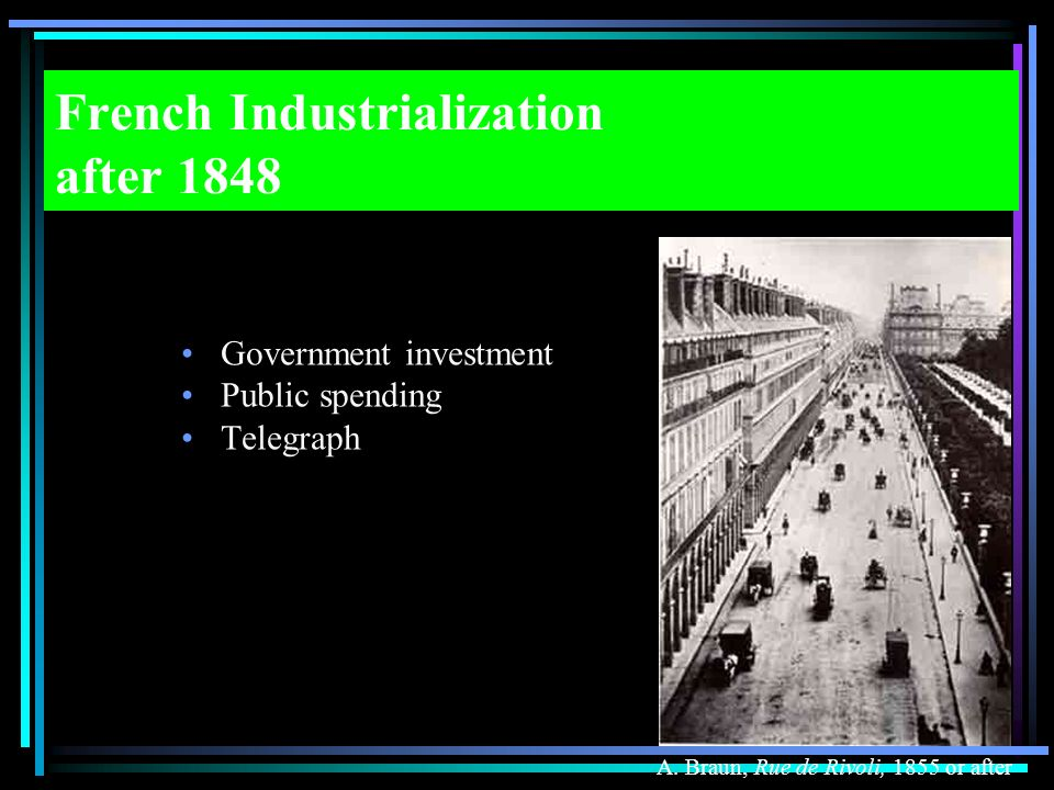 French Industrialization after 1848