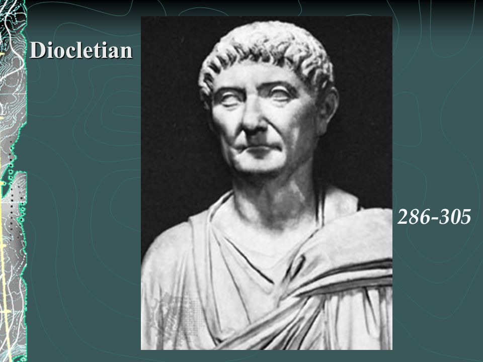 Diocletian 286-305