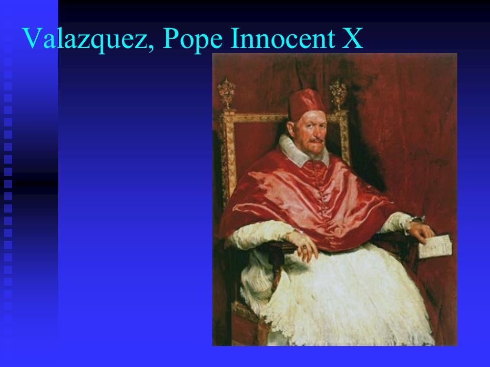 Valazquez, Pope Innocent X