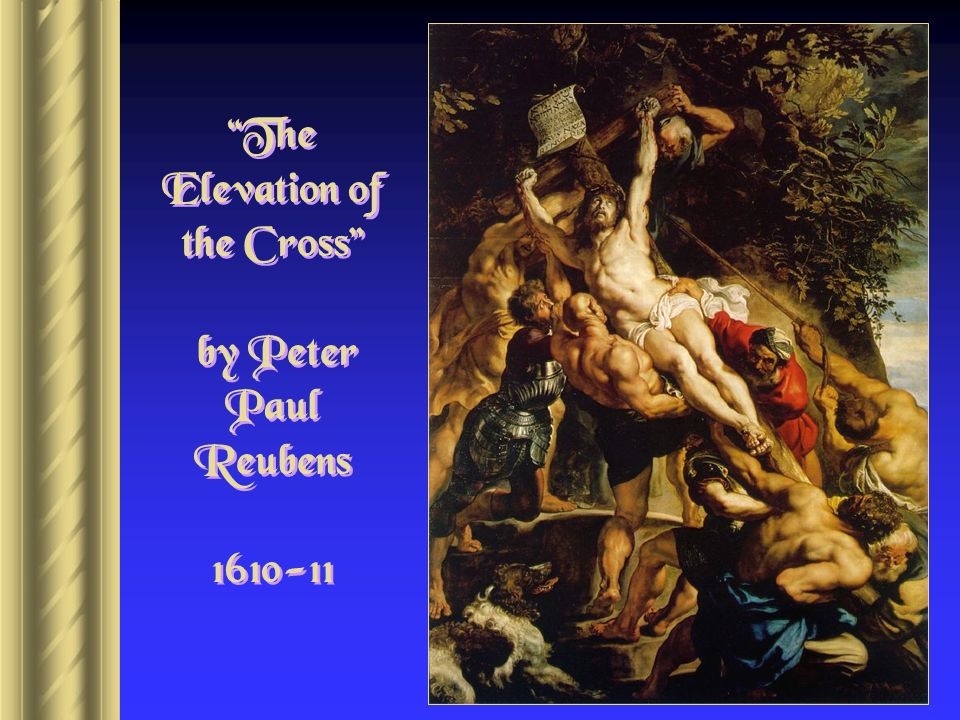 The Elevation of the Cross by Peter Paul Reubens