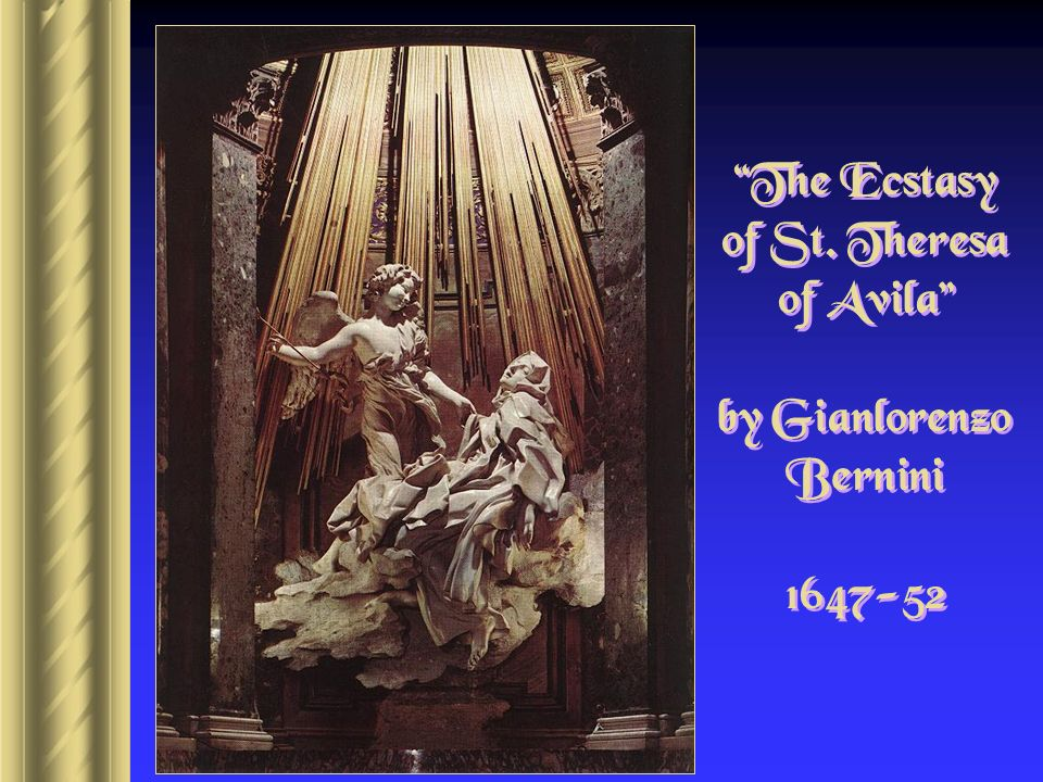 The Ecstasy of St. Theresa of Avila by Gianlorenzo Bernini
