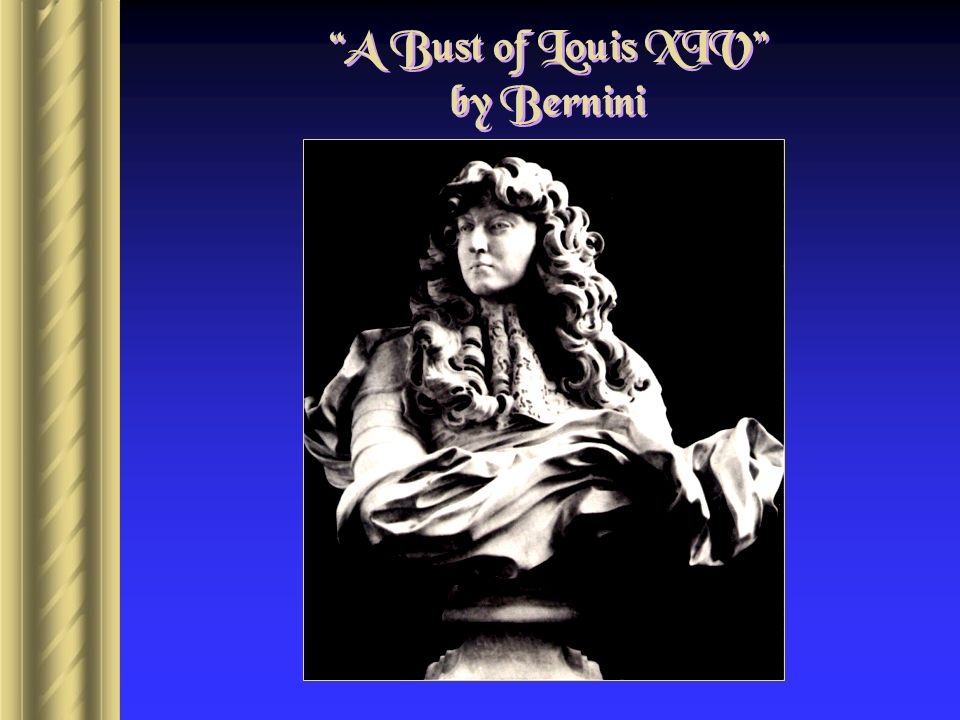 A Bust of Louis XIV by Bernini