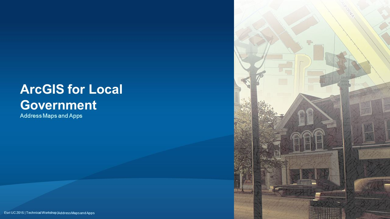 ArcGIS for Local Government
