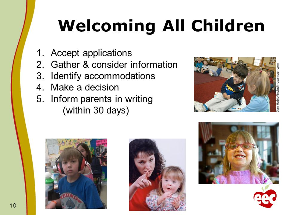 Welcoming All Children