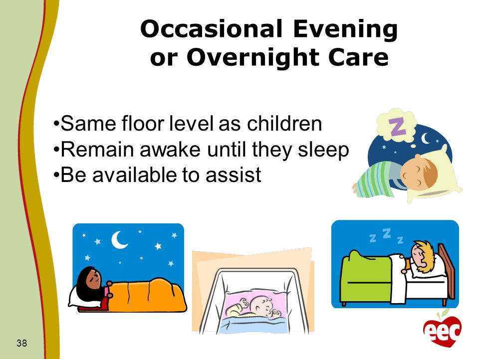 Occasional Evening or Overnight Care