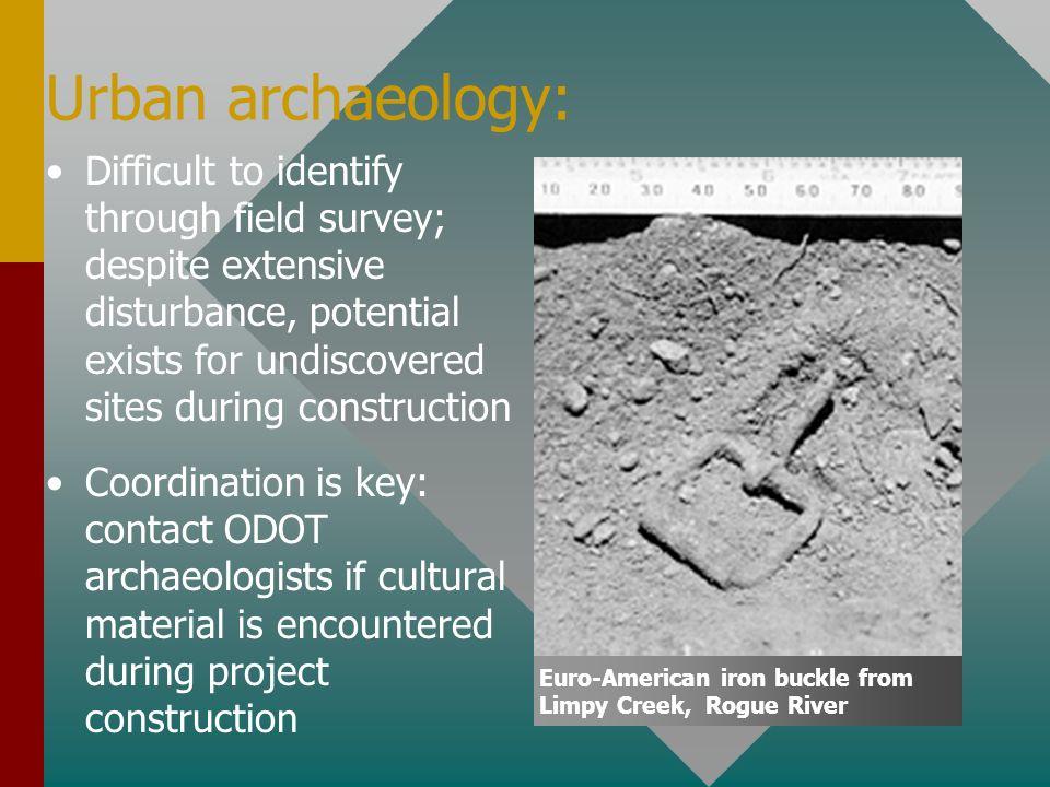 Urban archaeology: