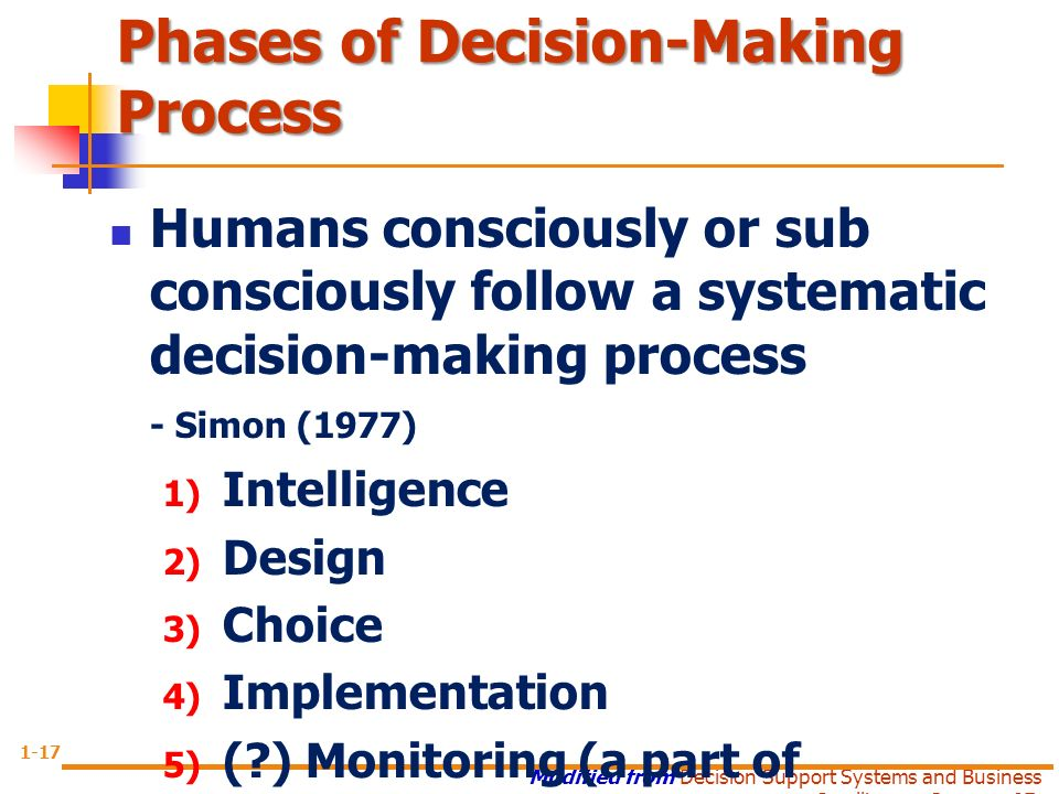 Decision Making and Right Brain Left Brain