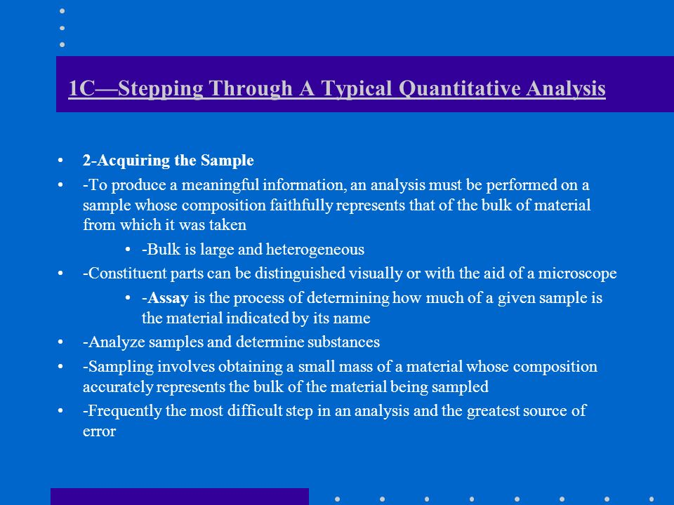 What Is Analytical Chemistry? - Ppt Download