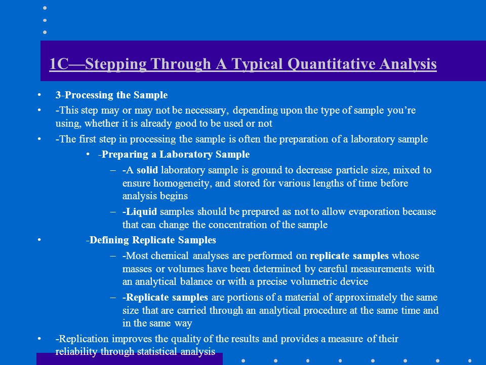 What Is Analytical Chemistry  Ppt Download