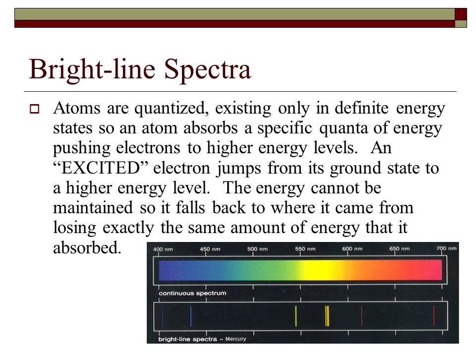 Bright-line Spectra