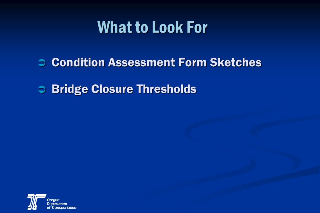 What to Look For Condition Assessment Form Sketches