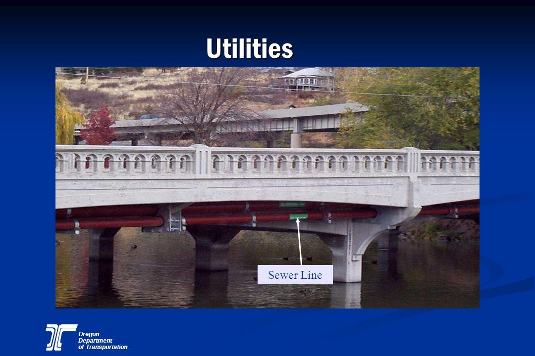 Utilities Sewer Line