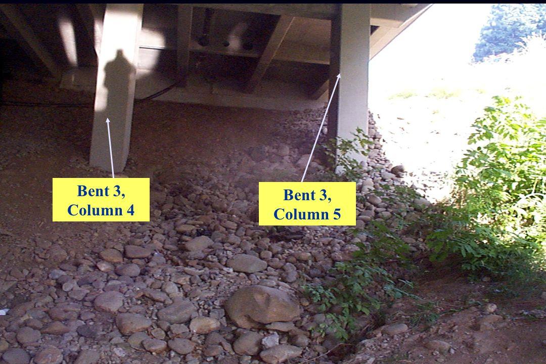 Bent 3, Column 4 Bent 3, Column 5