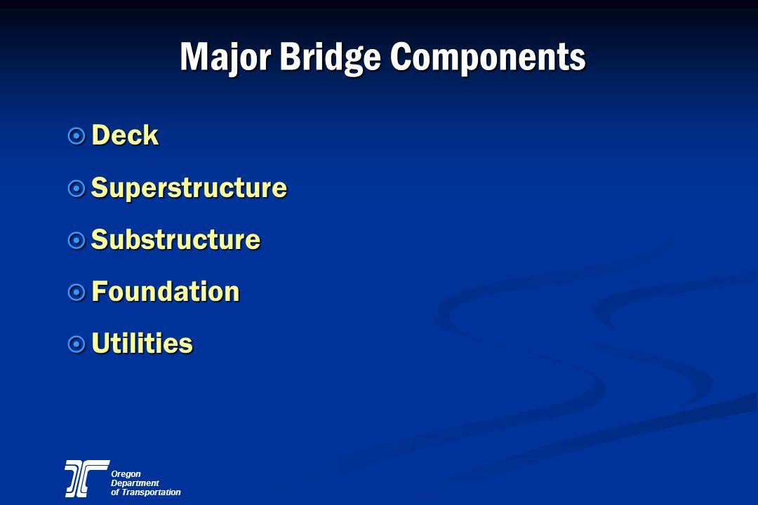 Major Bridge Components