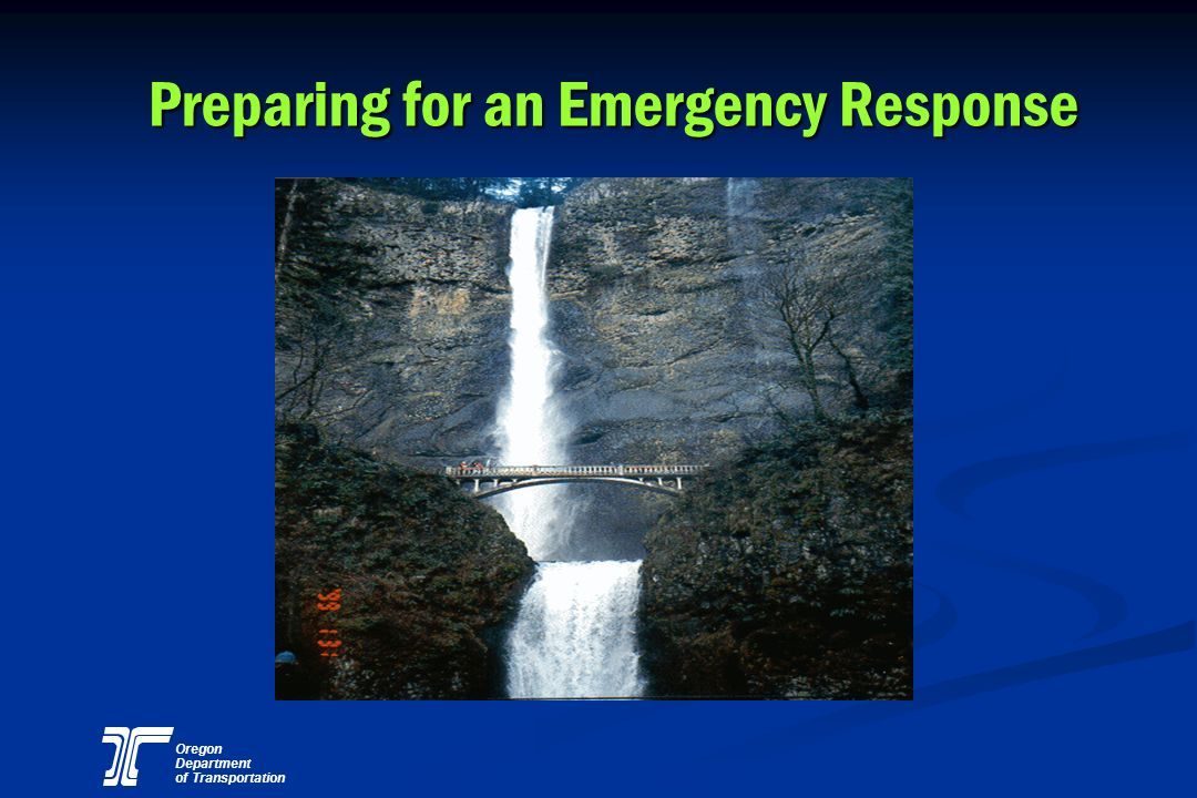 Preparing for an Emergency Response