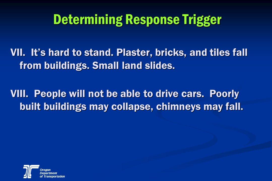 Determining Response Trigger
