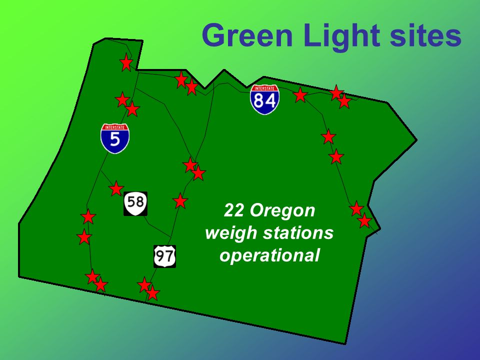 22 Oregon weigh stations operational